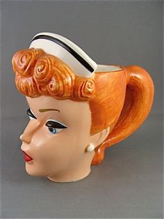 "Barbie Enchanted Evening, 1961 Sculpted Mug from the ""from Barbie with Love…"
