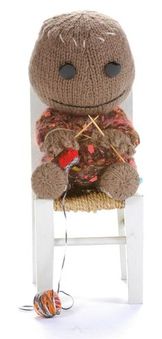 weloveamigurumi: Free Alan Dart knitted Sackboy Pattern