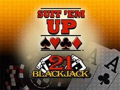 Suit 'Em Up Blackjack Online Casino Slot Online Casino Slots, Best Online Casino, Online Casino Games, Best Casino, Gambling Sites, Online Gambling, Play Casino Games, Online Roulette, Casino Promotion