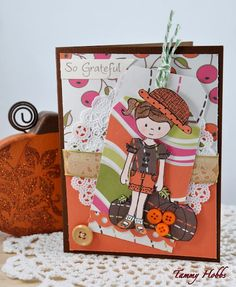 Created by Tammy Hobbs using Emma and You Are Fabulous stamp sets from www.papersweeties.com