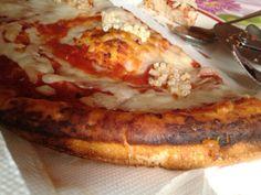 "2. Not so normal. Pizza#iper pizzaaa #tomato# mozzarella#cheese#spezie#salt toomuch ADDS;-)#pasta#peperoncino sauce :0 1/2 x1x200grx15fat.40carb.10sugar.15protein&7fiber. ""Soffice""with crust. Too oil #1may2014#festadeilavoratori#jobsday#Festadeidisoccupati…"