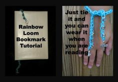 Rainbow Loom Beaded Bookmark Tutorial