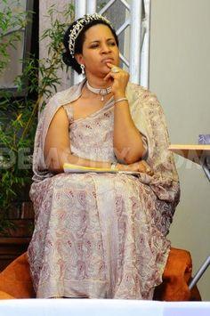 Best Kemisiga, Queen mother of the Toro Kingdom, Uganda.