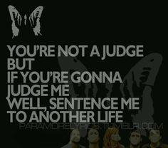 Paramore - Ignorance.  . Brandon.