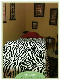 Elite Salon & Day Spa African Room for Treatments