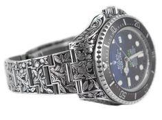 Rolex Sea-Dweller Deepsea - unique piece by Huckleberry LA - Perpetuelle