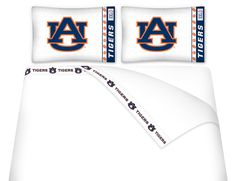 ATHLEZ - Auburn Tigers Micro Fiber Sheet Set Queen