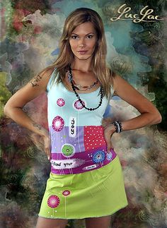 Follow your joy / LucLac - SAShE.sk - Handmade Šaty Follow You, Tie Dye, Joy, Hand Painted, Summer Dresses, Handmade, Clothes, Art Clothing, Women