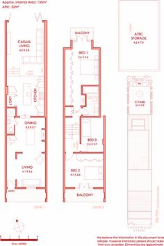 Ground Floor plan - too big for us, but like the stairs down to casual living and the kitchen/laundry space. Warehouse Floor Plan, Warehouse Apartment, Terrace Floor, House Construction Plan, Sims House Design, Glass Extension, Compact House, Best Insulation, Narrow House