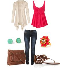 """""""Flower Power"""" by leah-jenkins on Polyvore"""