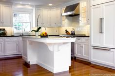 The challenge of this Wayne PA kitchen remodel was to take a tiny kitchen from being cramped and dysfunctional to opened and bright.