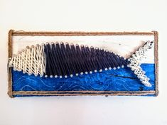 Sardine in string art Algarve, B & B, String Art, West Coast, Portugal, Holidays, Breakfast, Artist, Vacations
