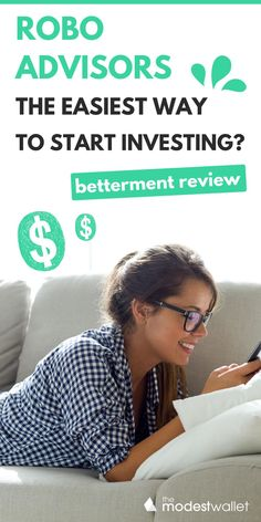 Are you thinking about starting to invest but you aren't sure where to start? Avoid going through the traditional investment firms by using easy to use investment apps like Betterment. This full review will show you exactly why Betterment is the perfect app for beginners to start investing money. Whether you want to start an IRA or retirement fund, Betterment is one of the top apps to earn money for your financial portfolio. #money #investment #personalfinance Stock Market Investing, Investing In Stocks, Investing Money, Make Money Online, How To Make Money, Share Portfolio, Stock Market For Beginners, Investing For Retirement, Certified Financial Planner