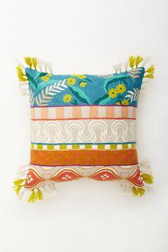 Aziza Crewelwork Pillow - Anthropologie.com #Anthropologie #PinToWin