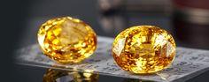 Natural Sapphire Ceylon Sri Lanka  http://gemstones.name/yellow-sapphires.html