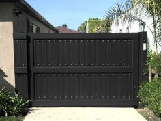 Fence Fence Company Spanish Fort Alabama Wooden Fence In Spanish with sizing 1024 X 768 Erect A Fence In Spanish - Ascertain wherever your fence will go. Steel Gate Design, Front Gate Design, Main Gate Design, House Gate Design, Garage Door Design, Garage Doors, Metal Gates, Wooden Gates, Wrought Iron Gates