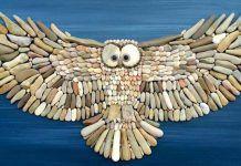 Otec so synom tvorí z obyčajných kamienkov a piesku nádherné obrazy. To musíte vidieť!