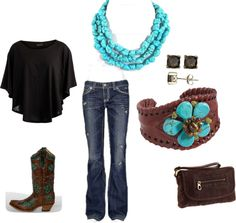 """""""Texas Country Music Nights ♥"""" by klc0716 on Polyvore"""