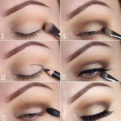 Eye makeup tutorial using Lotus Lashes No. 504 #eyeshadow #eyelashes #eyeliner