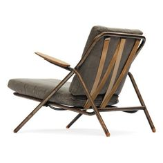Hans Wegner, Tubular Steel Lounge Chair, 1950s.