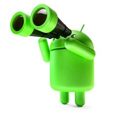 Free stock photo: Green Android robot with binoculars. Contains clipping path Free Photos, Free Stock Photos, Binoculars, Android, Tech, Explore, 3d, Creative, Arduino Projects
