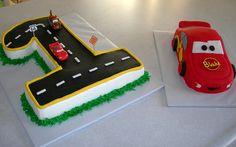 cute idea cars 1st birthday | Flickr - Photo Sharing!