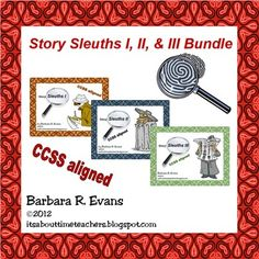 A bundle of fun and learning at a money saving price.  This bundle contains Story Sleuths I, II, & III.  Combine Caldecott Award winners with critical thinking.  $