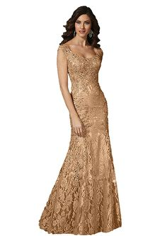 931cb46841e30 Angel Formal Dresses Women's Scoop Beaded Applique Mermaid Lace Mother Of  The Bride Evening Dress(