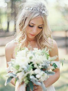 Bohemian Bridal Updo Photography: Jeremiah and Rachel Photography - jeremiahandrachel.com