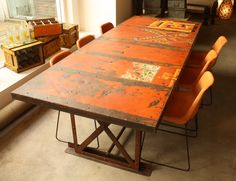 Dining Table Iron