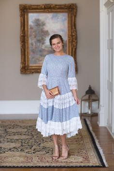 Nantucket Lace Dress - Dainty Jewell's