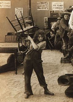 Mary Pickford in 'Rags', 1915                                                                                                                                                                                 More