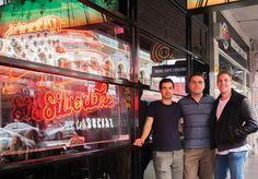 (Left to right) Byron Barrowclough, Nicholas Welch, Thomas Welch