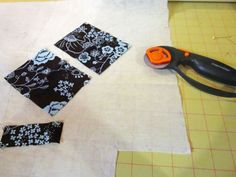 Picture of Cut out your fabric pieces.