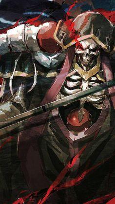 Ainz Ooal Gown ( Anime : Overlord ) Otaku Anime, Manga Anime, Overlord Anime Season 2, Dark Fantasy, Fantasy Art, Character Concept, Character Art, Super Anime, Ninja Art