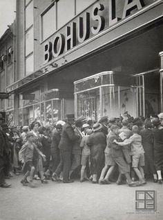 Viliam Malík: Opening of the shopping center Bohuslav Brouk in Bratislava (1938)