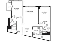 1000 images about floor plans on pinterest apartment floor plans floor plans and 1 bedroom 2 bedroom apartments in downtown detroit