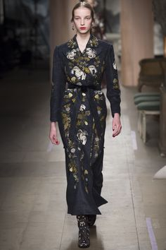 "Erdem | Fall '16 RTW | This season, the makings were inspired by ""1920s shifts, '30s bias-cut gowns, '40s tailoring""."
