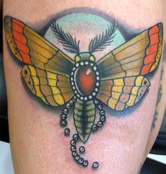 Trent Edwards - gem moth