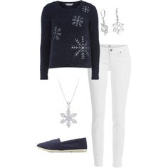Modern Elsa by smilelikeyoucan on Polyvore featuring Dorothy Perkins, Paige Denim, Charlotte Russe, Bling Jewelry and modern