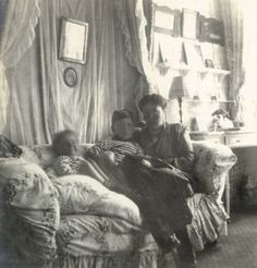 Grand Duchess Olga Alexandrovna Romanova of Russia with her sons,Guri and Tikhon. Belle Epoque, Peterhof Palace, Maria Feodorovna, Grand Duchess Olga, House Of Romanov, Tsar Nicholas Ii, Grand Duke, Imperial Russia, Rare Pictures