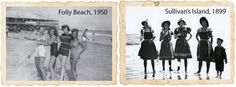 Before the Itsy-Bitsy Bikini / Take a dip into swimwear history via six retro suits