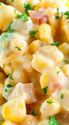 Southern Recipes Spicy Southern Hot Corn ~ doubles as a side dish AND a dip Corn Recipes, Side Dish Recipes, Great Recipes, Favorite Recipes, Delicious Recipes, Southern Dishes, Southern Recipes, Southern Food, Recipes