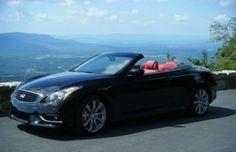 The Infiniti G37 Convertible Takes a Scenic Mountain Drive