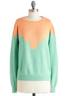 Take The Next Step Sweater, #ModCloth loving this sweater