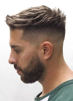 The 13 Original Styles of Military Haircut Regulations for Special Force 10 High and Tight Haircuts: A Classic Military Cut for Men Short Hairstyles For Thick Hair, Short Hair Cuts, Men Hairstyle Short, Short Quiff, Short Beard, Mens Hairstyles 2018 Short, Short Hair For Men, Military Hairstyles, Classic Mens Hairstyles