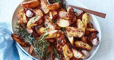 Pair your main with Curtis Stone's crispy roast rosemary and garlic potatoes.