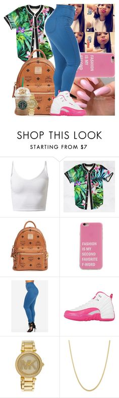 """"" by msixo ❤ liked on Polyvore featuring MCM, NIKE and Michael Kors"