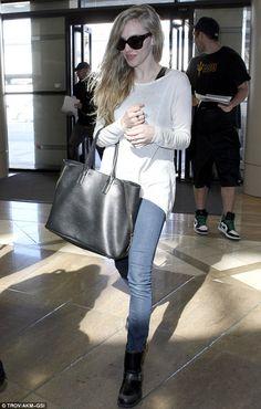 Amanda Seyfried's casual style