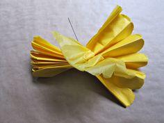 Tissue Paper Pom Pom Tutorial.... Hmmm make or buy?